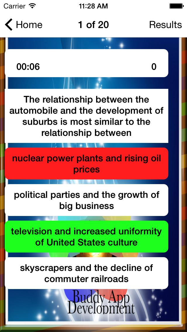 AP US History Prep 2020 screenshot 2