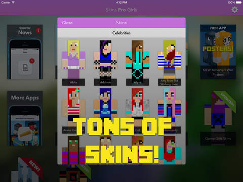 Skins Pro Girls for Minecraft screenshot 6
