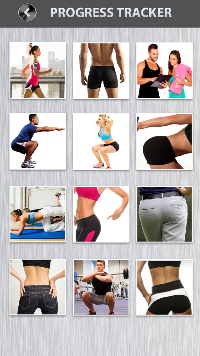 Butt Workout PRO HD - 10 Minute Butt Exercises & Aerobic Squats for Thigh & Leg screenshot 4
