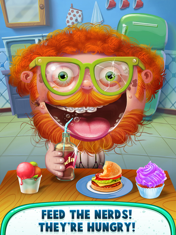 Hairy Nerds - Crazy Geek Makeover! screenshot 9