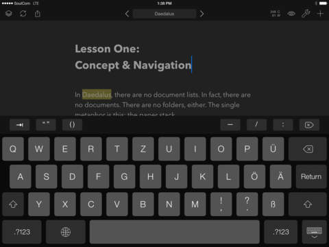 Daedalus Touch – Text Editor for iCloud screenshot 8
