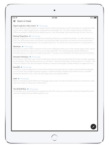 nvNotes - Note Taking & Writing App screenshot 3