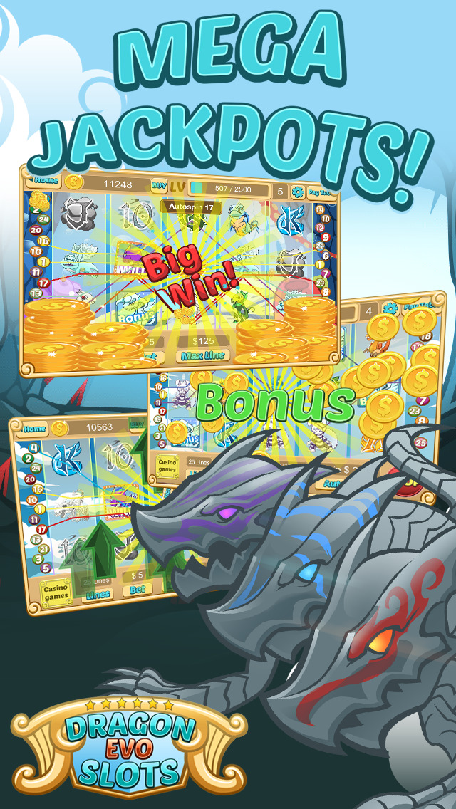 `Dragon Evo Slots PRO - Medieval Casino screenshot 4