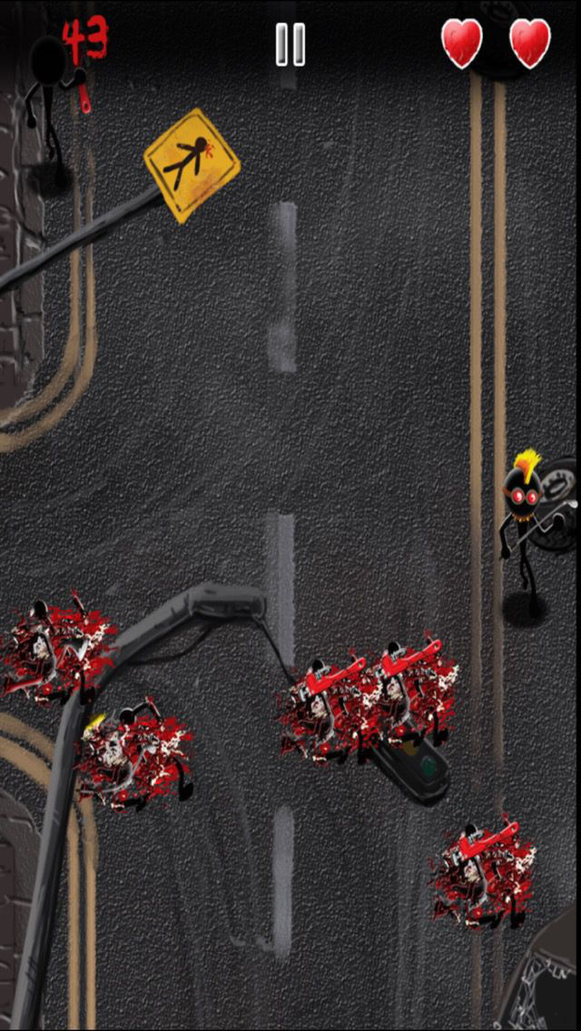 Angry Stickman Smasher - eXtreme Blood and Guts Edition screenshot 3