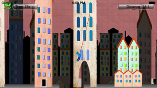 Stickman Agent : Flight Racing In The City screenshot 3