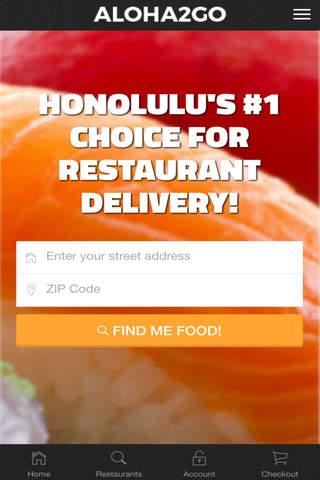 Aloha 2 Go Restaurant Delivery Service - náhled