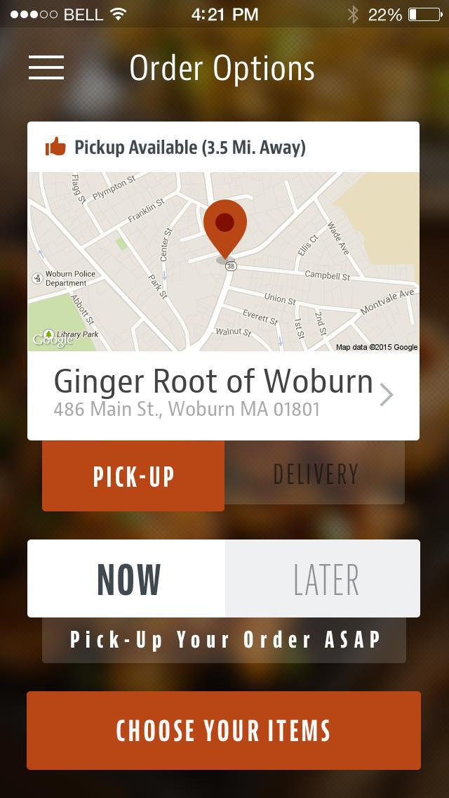 Ginger Root of Woburn screenshot 2
