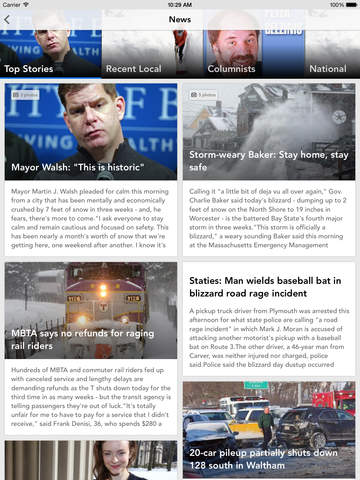 Boston Herald screenshot 5