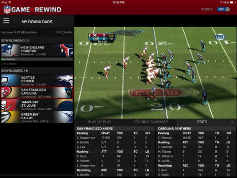 NFL Game Rewind | Apps | 148Apps