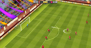 Disney Bola Soccer screenshot #1