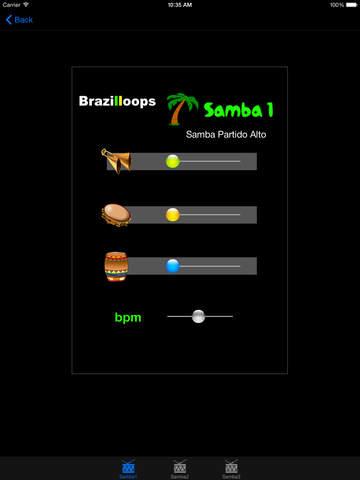 Brazilloops Samba screenshot 4