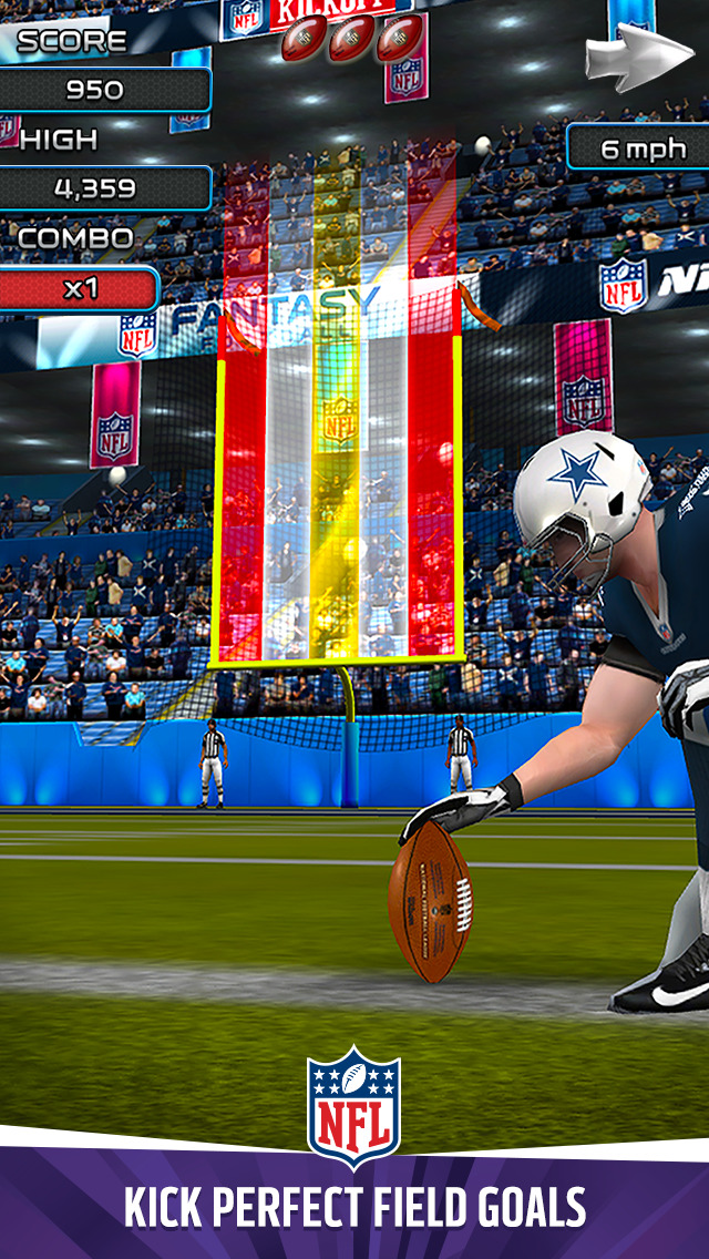 NFL Kicker 15 screenshot 3