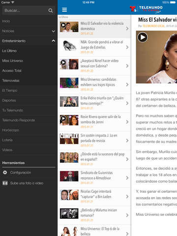 Telemundo Puerto Rico screenshot 8