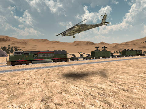 Train Sniper Simulator 3D screenshot 8