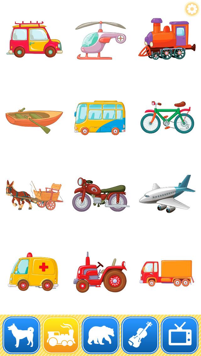 Kids Animal Games:toddler learning flashcards Free screenshot 4