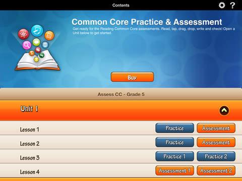 HMH English Learner Assessment Practice Grade 5 screenshot 1