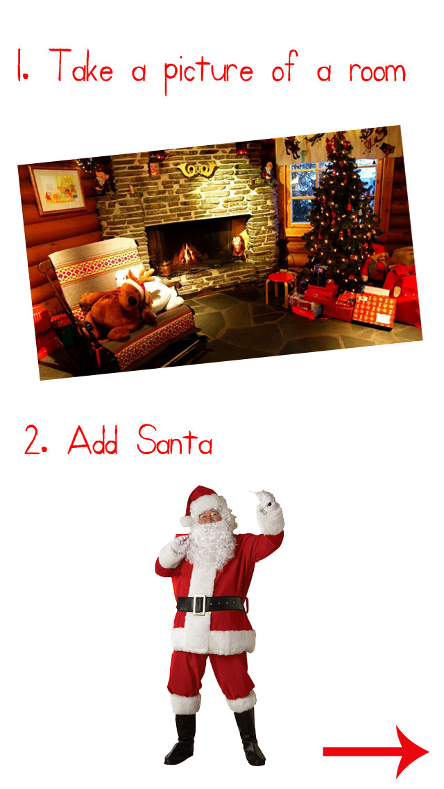 Santa Camera: Catch Santa in your House PNP 2015 screenshot 1