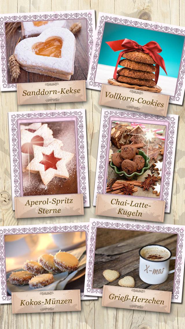 Plätzchen - Neue Rezepte screenshot 2