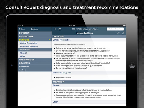 Johns Hopkins Psychiatry Guide 2015 screenshot 7