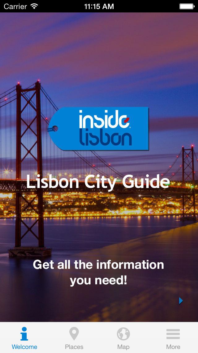 Inside Lisbon - City Guide screenshot 1