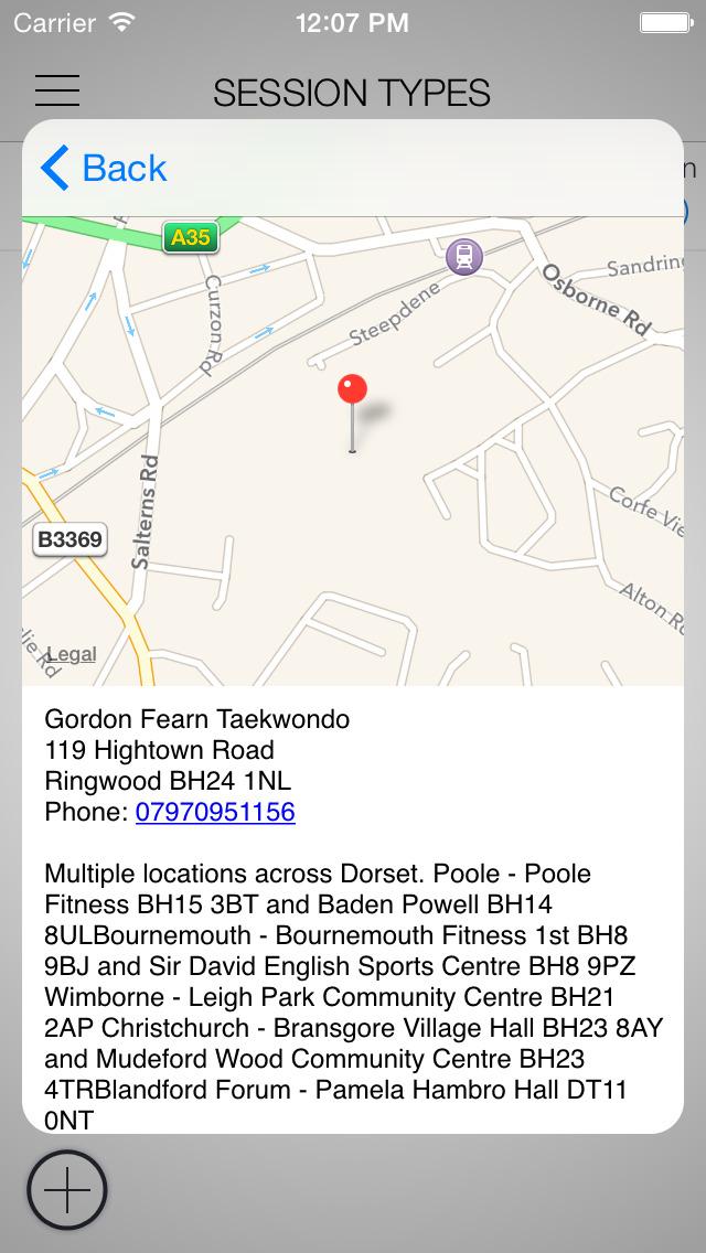 Gordon Fearn Tae Kwon Do screenshot 2