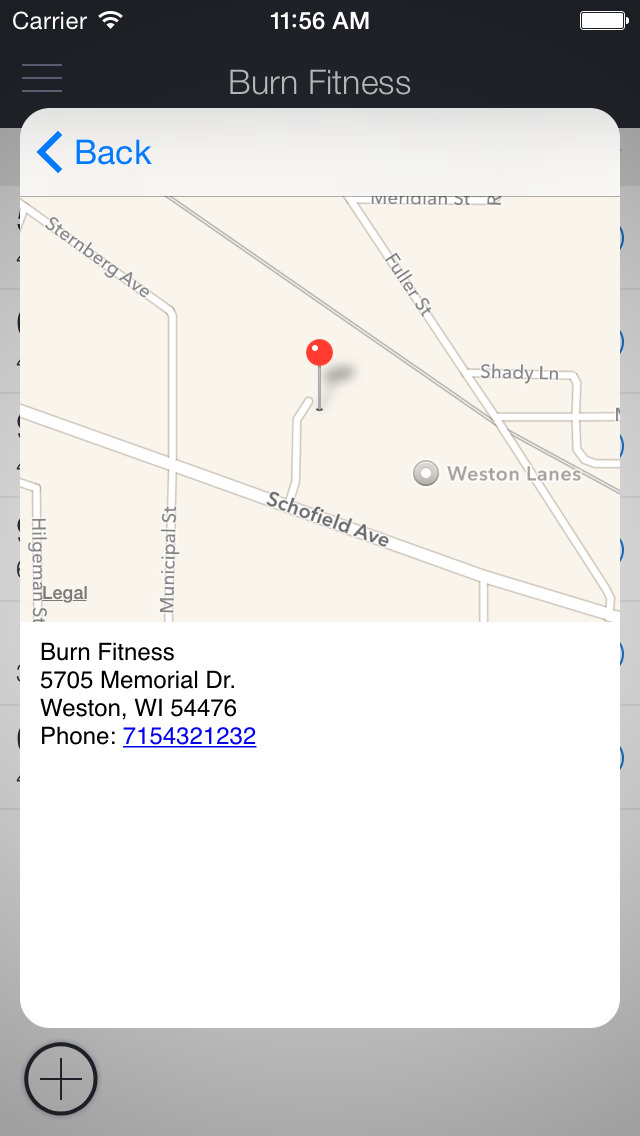 Burn Fitness Studio screenshot 3