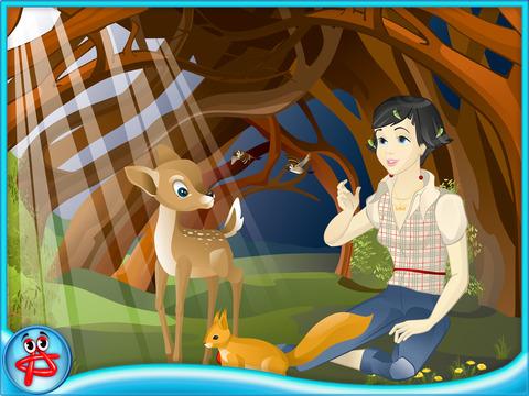 Snow White: Free Interactive Book for Kids screenshot 8