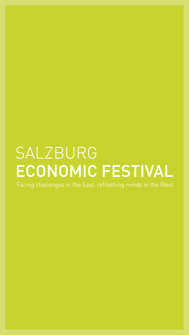 Salzburg Economic Festival screenshot 1