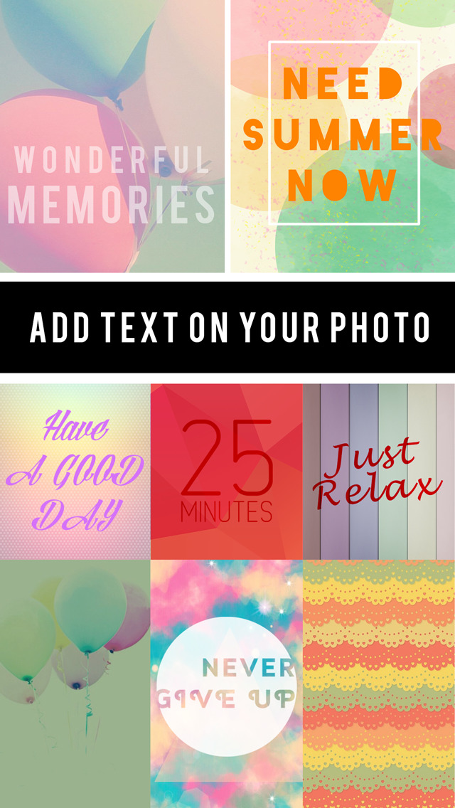 Font Maker Pastel : Text & Photo Editor Wallpapers Fashion Pro