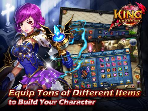 KING-THE MMORPG screenshot 8