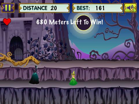 Witch Summoners Run - Running Distance War screenshot 2