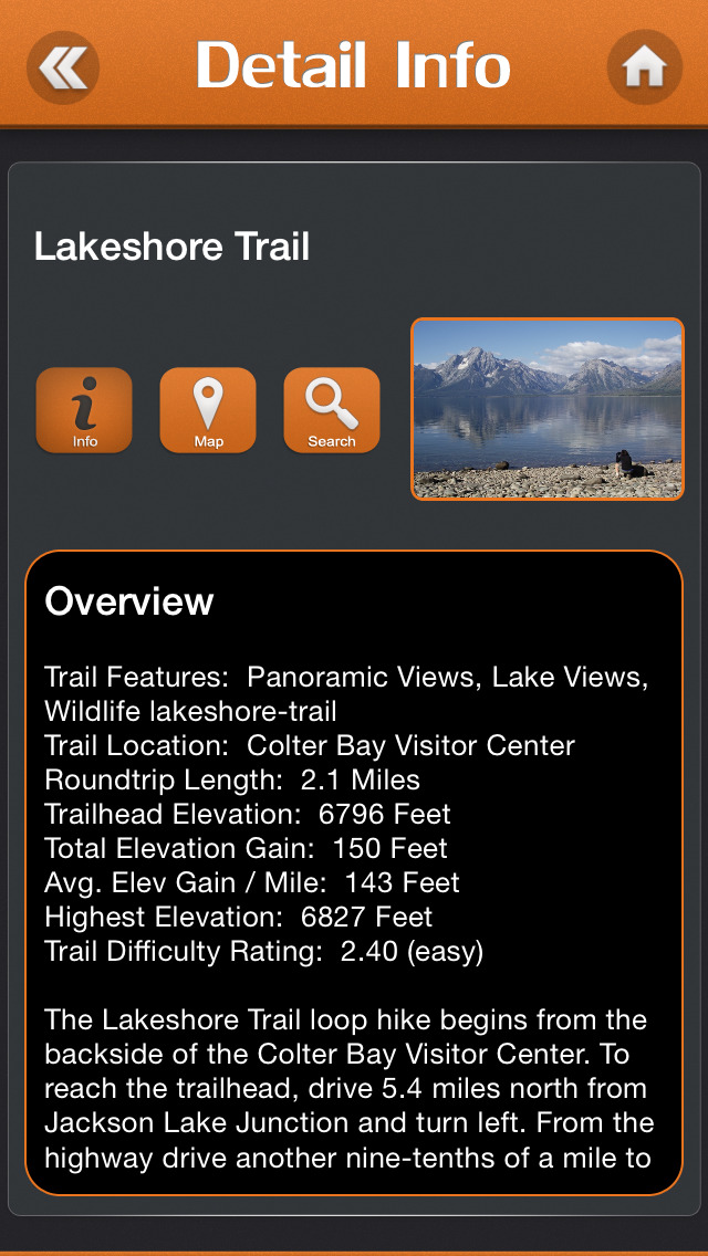 Hiking - Grand Teton National Park screenshot 3