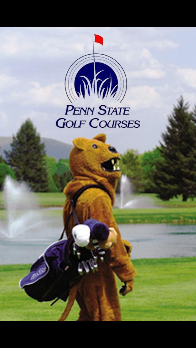Penn State Golf Courses screenshot 1