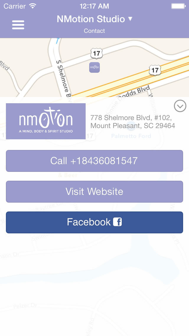NMotion Mobile App screenshot #1