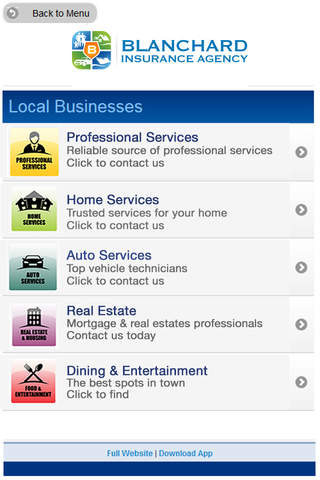 Blanchard Insurance Agency - náhled