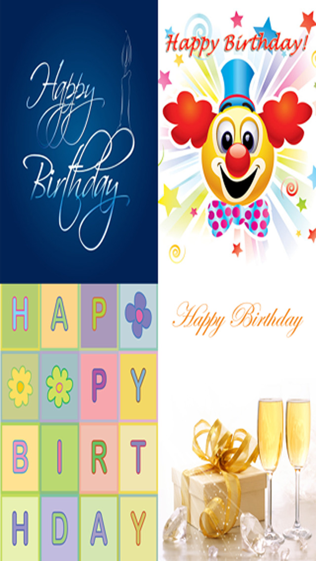 The Ultimate Happy Birthday Cards (Lite Version). Custom and Send Birthday Greetings eCard with emoji, text and voice messages screenshot 2