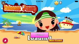 Princess Jump : Fashion Girl Have Fun On The Beach screenshot 1