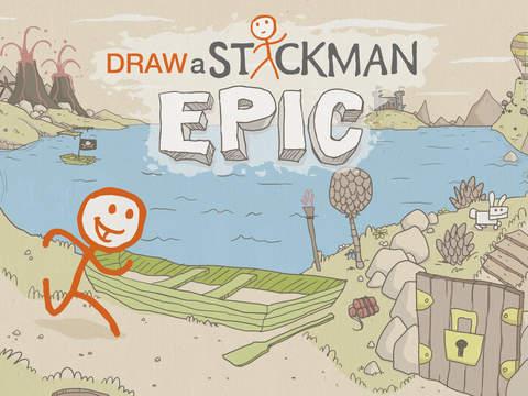 Draw a Stickman: EPIC HD screenshot 1
