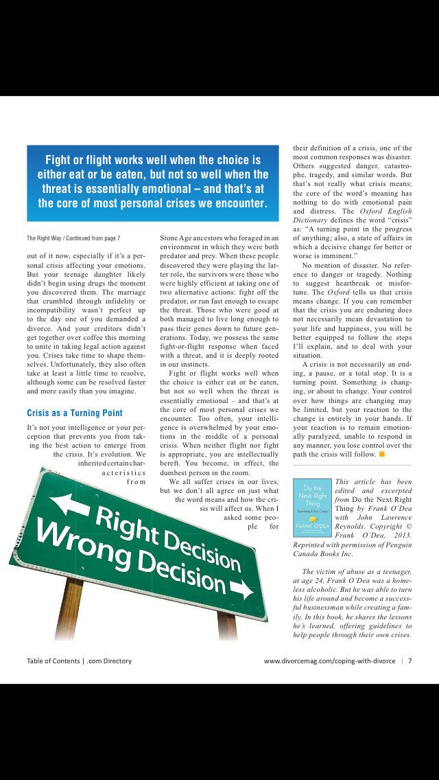 New York Divorce Magazine screenshot 2