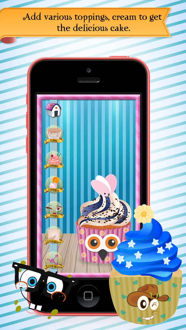Cupcake Factory Lite screenshot 1