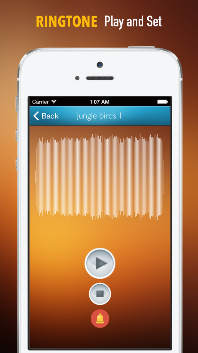 Nature Sounds Ringtones and Wallpapers: Theme your Phone to be back to the Nature screenshot 2