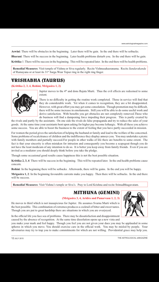 The Astrological eMagazine screenshot 2
