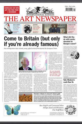 The Art Newspaper - náhled