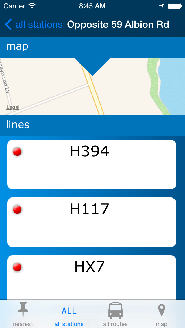 Hobart Buses screenshot 3