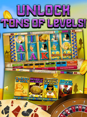 """ A Ace Casino – Pyramids Way FREE Slots screenshot 7"