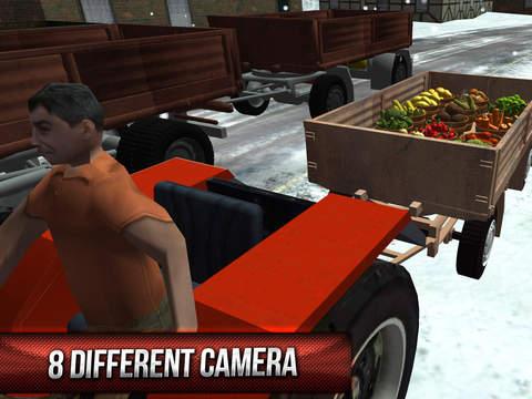 Winter Hill Climb Truck Racing screenshot 9