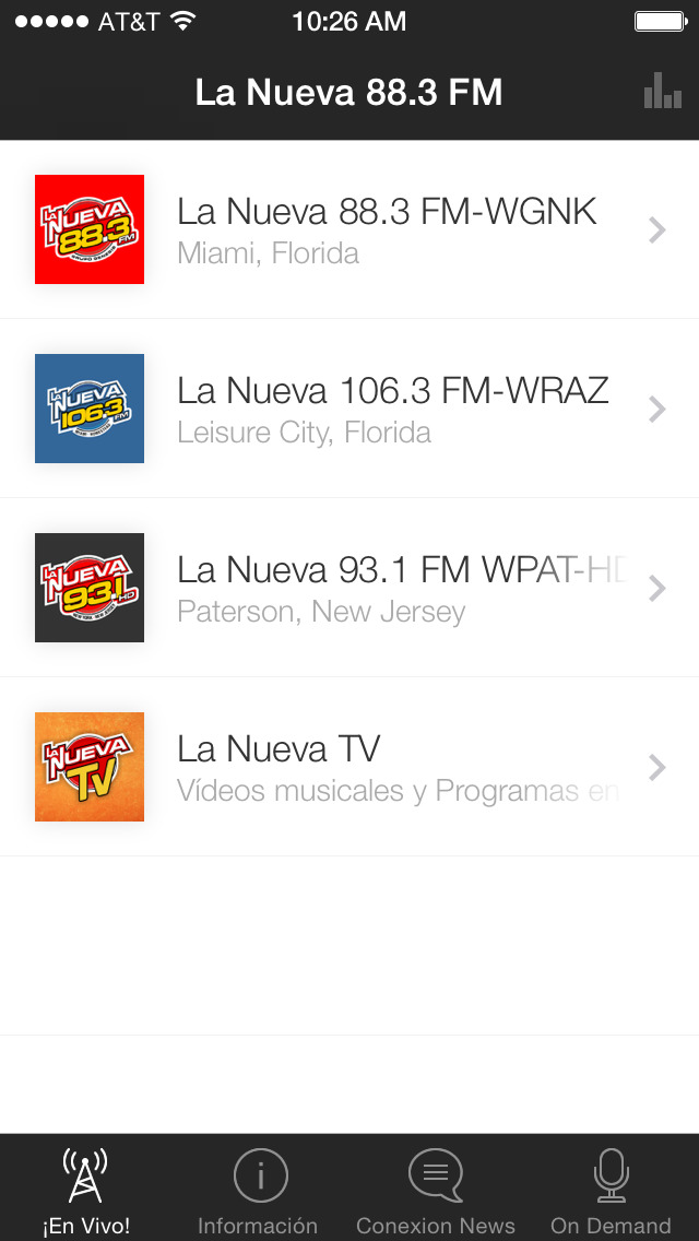 LaNueva883 screenshot 1