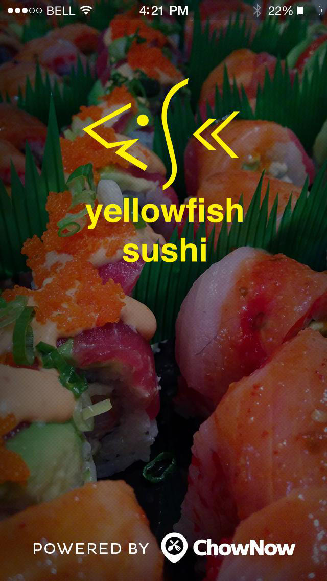 yellowfish sushi screenshot 1