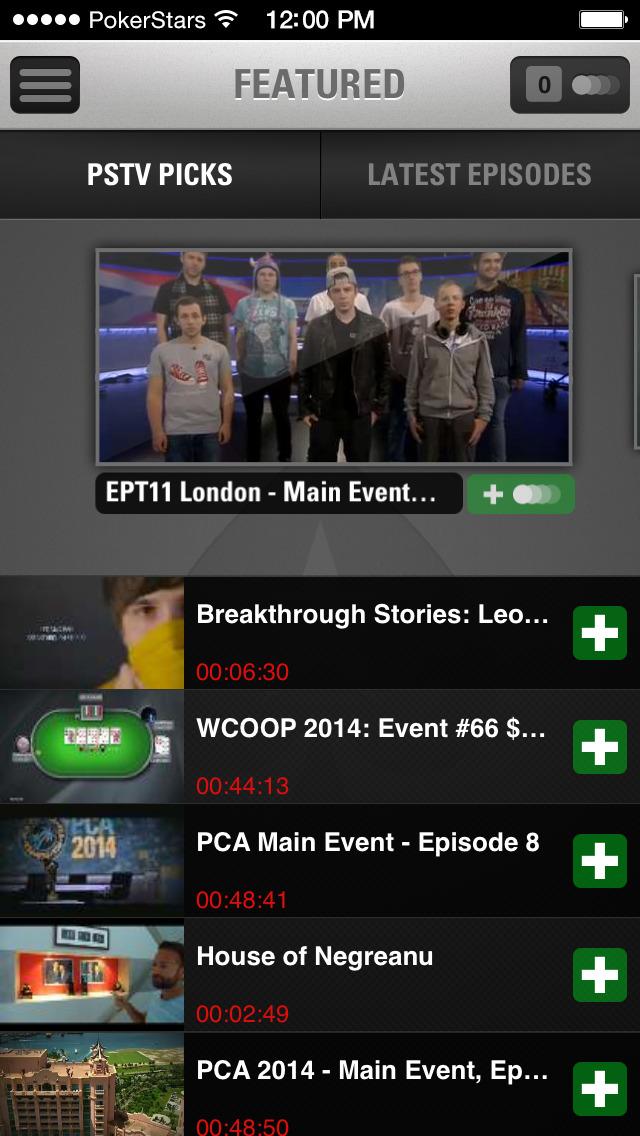 Pokerstars Tv App
