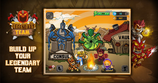 Legendary Team – the action role playing game for epic heroes screenshot 2